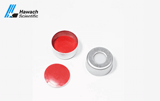 Hawach Scientific Septa and Cap for Crimp Top Sample Vials